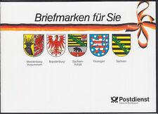 Bund Geschenkmarkenheftchen 1991 GH 1 mit H-Blatt v. linken Bogenrand postfrisch
