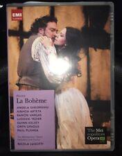 Puccini - La Boheme (DVD, 2008, Metropolitan Opera, The) USED VHTF **Free S&H**