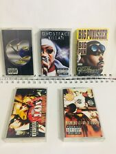 90s Rap Hip Hop cassette tapes Ghostface Killah Wu Tang Canibus Big Pun The Lox