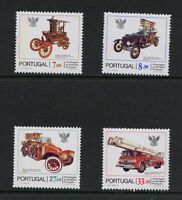 M665  Portugal  1981    transport fire trucks     4v.   MNH