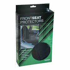 Water Resistant Front Seat Cover - Black - Pair