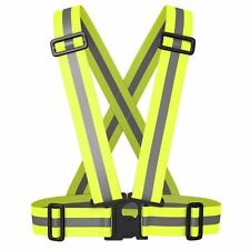 Visibility 360 Degrees Running Vest Safety Reflective Vest Neon Reflection