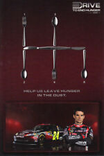 "2011 Jeff Gordon Drive To End Hunger ""2nd issued"" Chevy Impala NASCAR postcard"