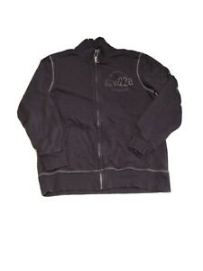 Casual Corporation By S Oliver sz. XL  fleece mock neck. Jackets distressed blk.