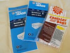 Clearance 7pcs Kenmore 5023, 5033, 20-5033, Type E Vacuum Cleaner Bags Unused