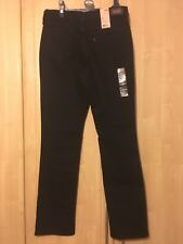 Levis 505 Womens Black Jeans Size 8M 29 Inside Leg
