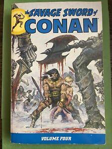 The Savage Sword of Conan - Volume 4