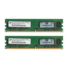Desktop Memory Micron 4GB 2x 2GB DDR2 800Mhz PC2-6400U 240Pin Dimm Low Density