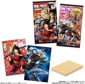 4 RANDOM PACKS Bandai ONE PIECE Wafer & Card Samurai no Kuni  4549660424260