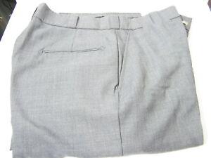 Horace Small Mens Uniform Pants 36R Unhemmed  35 inseam Gray NWOT