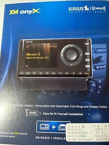 Sirius XM XDNX1V1 Onyx Home Kit and Play Satellite Radio + Car Vehicle Kit New