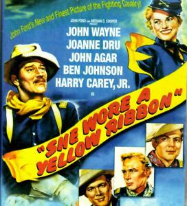 She Wore A Yellow Ribbon DVD 1950 Classic War Movie John Wayne Joanne Dru