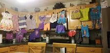 Lot 24 Toddler Girl Sz 4 Dresses, Shorts, Shirts, Swimsuit - Kidgets, Okie Dokie
