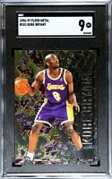 1996 Fleer Metal #181 Kobe Bryant Lakers RC Rookie HOF SGC 9 MINT