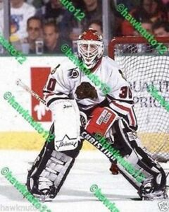 Ed Belfour CHICAGO BLACKHAWKS goalie 11 x 14 color PHOTO HOCKEY #B30DCBw14