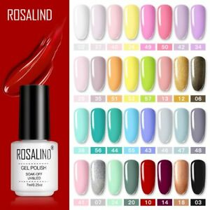 Rosalind Nail Glitter Nail Polish Gel Sequins Flakes Sparkly Nail Art Decoration