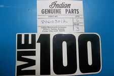 NOS Genuine Indian 73 74 75 1973 1974 1975 ME100 Decal