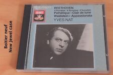 Yves Nat - Beethoven Sonates Pathétique Clair de Lune Waldstein Appassiona  - CD