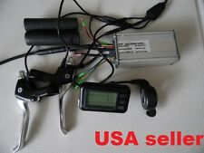 Dual 36V/ 48V electric bike controller + LCD panel +Throttle +brake harness etc