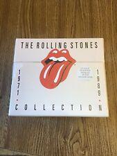 'The Rolling Stones Collection 1971-1989' CD box set Rare & MINT 1990 Austria !