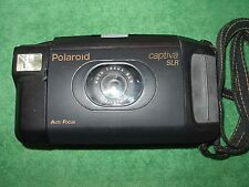 POLAROID CAPTIVA SLR AUTO FOCUS INSTANT CAMERA 95 FILM MADE IN USA