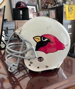 Vintage St. Louis Football Cardinals helmet decal SET, full size. Go Big Red!