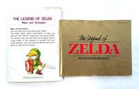 Legend of Zelda NINTENDO NES Instruction Manual & Maps and Strategies Insert