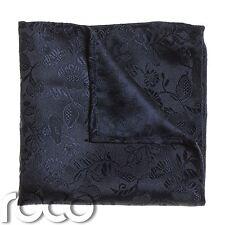 Boys Navy Pocket Square, Boys Handkerchief, Pocket Handkerchief, Flower Print