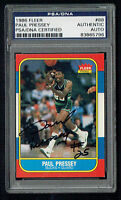 Paul Pressey #88 signed autograph auto 1986 Fleer Basketball Card PSA Slab