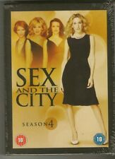 Sex And The City Season 4 DVD Brand New & Sealed TV Series Region 2
