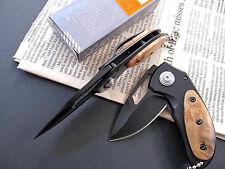 HQ Mini Pocket Survival Saber Folding Hunting Camping Lock Steel Knife Gift