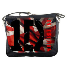 Men Women One Direction Union Jack Messenger Bag School Laptop Travel Sling Bags