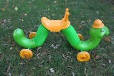 VTG 1970's Hasbro Inch Worm 🐛 Inchworm Child Ride On Bouncer Toy MADE IN USA