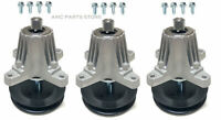 3 Spindles With Mounting Bolts For Cub Cadet MTD 918-06980 618-06980