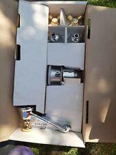 Rubinetti batteria Lavabo Ponsi serie viareggio cromo e oro