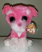 """Ty Beanie Boos - CHERRY the Dog 6"""" (Claire's Exclusive) NEW - MINT with MINT TAG"""