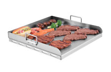 Royal Gourmet BBQ Comal Flat Top Cooking Griddle Pan Stainless Steel