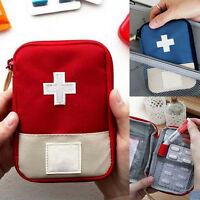 Portable Mini Travel Camping Survival First Aid Kit Medical Emergency Bag 3Color