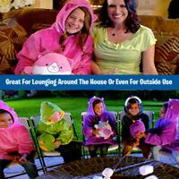 Cute Warm Comfy Pets Hoodie Children Pajama Winter Cpzy Sweatshirt Pullover Kids