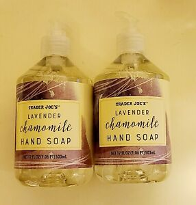 2x Trader Joes  Lavender Chamomile Hand Soap for Soft Clean & Smooth Hands 17oz