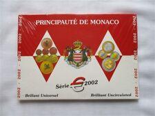 Monaco Coffret BU Euro - Monaco  8 pièces - Prince Rainier -  2002 sous blister
