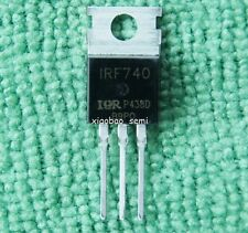 10pcs New IRF740 Power MOSFET N-Channel IR TO-220
