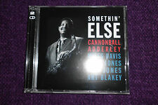 """CANNONBALL ADDERLEY """"Somethin' Else """" / """"Cannonball's Sharpshooters """" 2CD   NEW"""
