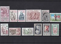 france mixed mint never hinged  stamps  ref 7193