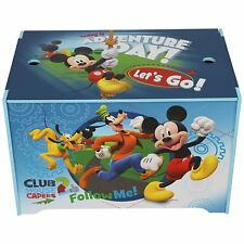 Disney Mickey Mouse Toy Box toy Chest storage box for toys books clothes