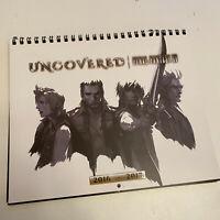Final Fantasy XV 15 Uncovered Rare Promo 2016 - 2017 Calendar Unique Art