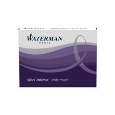 Waterman Cartridges Short Size - Purple 6 Pack S0110980