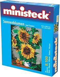 Ministeck Pixel Puzzle (31887): Sunflowers