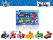 New 6pcs Paw-Patrol Dog Animal Car Toys Puppy Dog TV Cartoon Hot Toys Xmas Gift