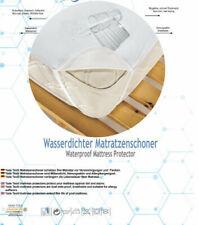 Molton Kalmuck Matratzenschoner 120//200 cm Schutzbezug Kneer Q86 100/% Baumwolle
